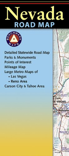 9780783499000: Benchmark Nevada Road Map (Benchmark Maps: Nevada)