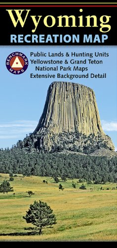 9780783499024: Wyoming Recreation Map (Benchmark Maps: Wyoming)