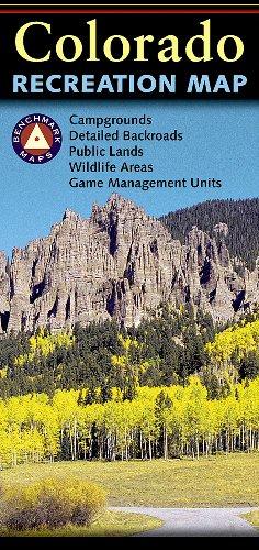 9780783499062: Colorado Recreation Map