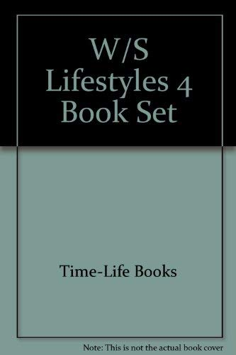 Williams Sonoma Lifestyles 4 Book Set: Time-Life Books