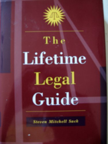 9780783548593: The Lifetime Legal Guide