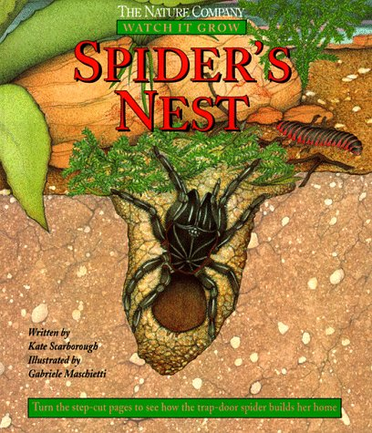 The Nature COmpany Spider's Nest. Watch it Grow: Kate Scarborough Illustrated by Gabriele ...