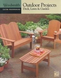 9780783559582: Outdoor Projects: Deck, Lawn & Garden (Woodsmith: Custom Woodworking, 9)