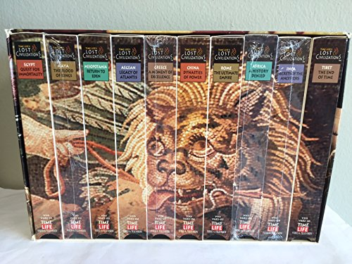 9780783584041: Lost Civilizations 10-Tape Box Set [VHS]