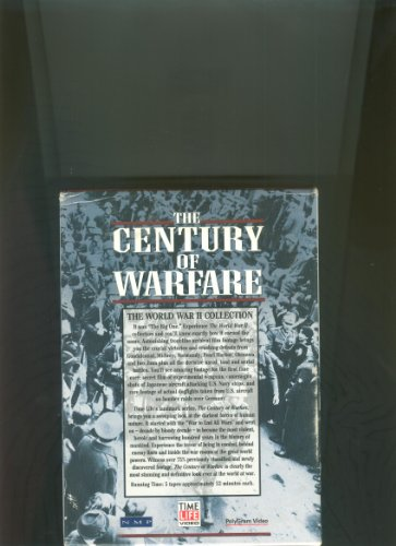 9780783585710: The Century of Warfare - World War II [VHS]