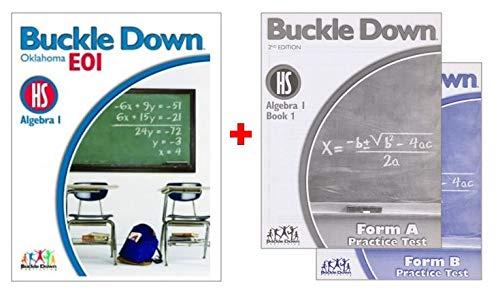 Buckle Down on Algebra 1 Book 1: Buckle Down Publishing
