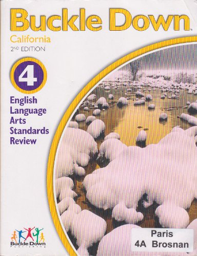 9780783651972: Buckle Down (California Standards Review 4 English Language Arts)