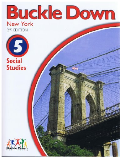 9780783658278: Buckle Down new York Social Studies Grade 5 with Practice Test Form A, B (Buckle Down)