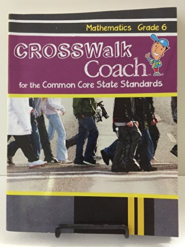 Crosswalk Coach for The Common Core State: Triumph Learning