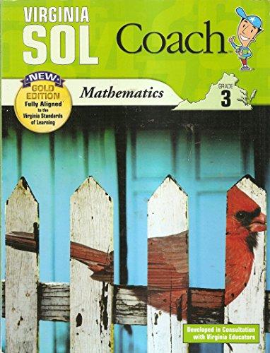 Virginia SOL Coach Mathematics Grade 3 (Gold: MATHQueue; Triumph Learning