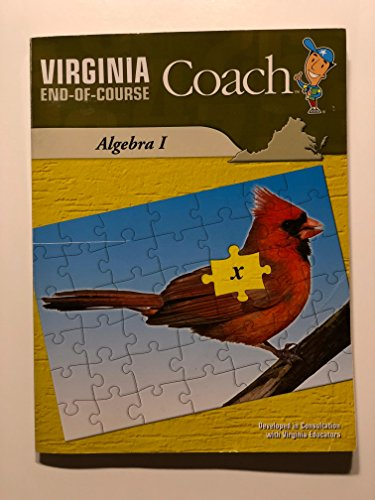 9780783682266: Virginia End-of-Course Coach: Algebra I