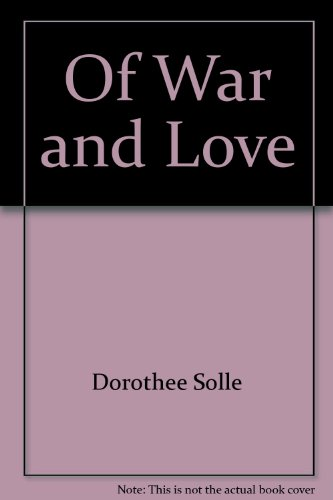 9780783798219: Of War and Love