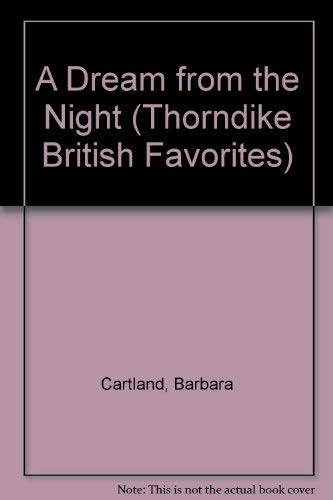 9780783801278: A Dream from the Night (G. K. Hall Nightingale Series Edition)