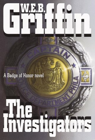 The Investigators: A Badge of Honor Novel (G K Hall Large Print Book Series): Griffin, W. E. B.