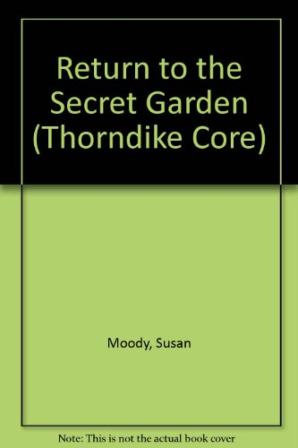 9780783802794: Return to the Secret Garden (G K Hall Large Print Book Series)