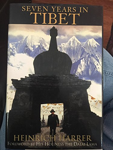 9780783803982: Seven Years in Tibet (G K Hall Large Print Book Series)