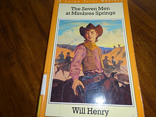 9780783811536: The Seven Men at Mimbres Springs