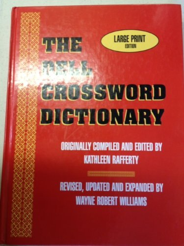 9780783812274: The Dell Crossword Dictionary