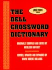 9780783812281: The Dell Crossword Dictionary