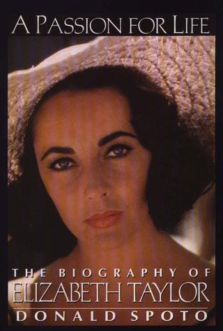 9780783813790: A Passion for Life: The Biography of Elizabeth Taylor (G K Hall Large Print Book Series)