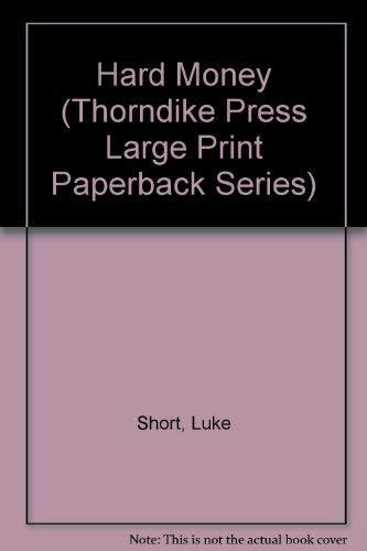 9780783814643: Hard Money (Thorndike Press Large Print Paperback Series)
