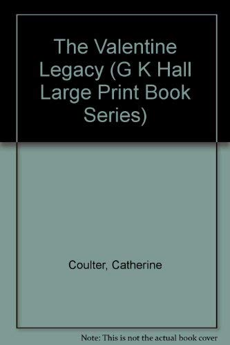 9780783814971: The Valentine Legacy (G K Hall Large Print Book Series)