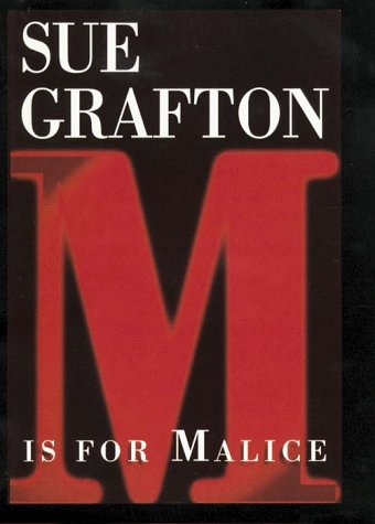 9780783818337: M Is for Malice (G K Hall Large Print Book Series)
