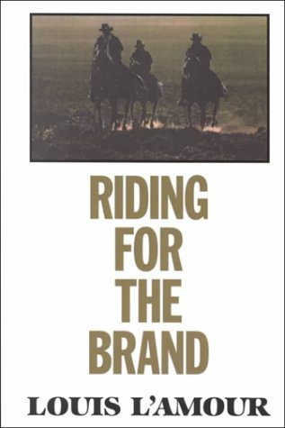 9780783819822: Riding for the Brand (G K Hall Large Print Book Series)
