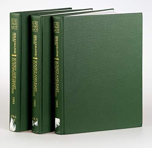 9780783821016: Bg Soviet East European St 199 (Bibliographic Guide to Slavic, Baltic, and Eurasian Studies)