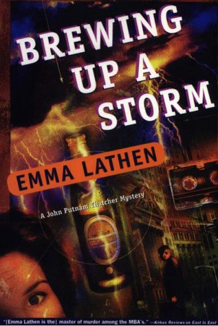 9780783880969: Brewing Up a Storm: A John Thatcher Mystery (G K Hall Large Print Book Series)