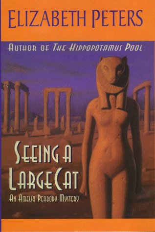 9780783882116: Seeing a Large Cat (G K Hall Large Print Book Series)