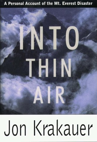 9780783882857: Into Thin Air: A Personal Account of the Mount Everest Disaster (G K Hall Large Print Book Series)