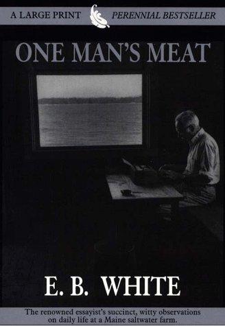9780783883212: One Man's Meat (Thorndike Press Large Print Perennial Bestsellers Series)