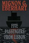 9780783883496: Five Passengers from Lisbon (Thorndike Press Large Print Paperback Series)