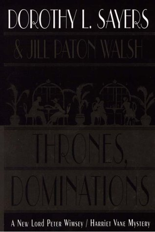9780783884387: Thrones, Dominations (G K Hall Large Print Book Series)
