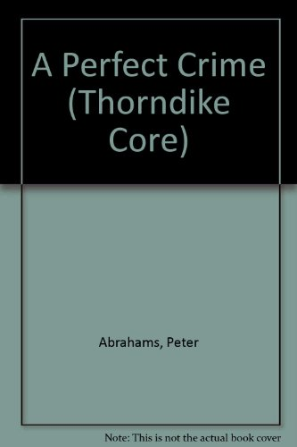 9780783884769: A Perfect Crime (Thorndike Core)