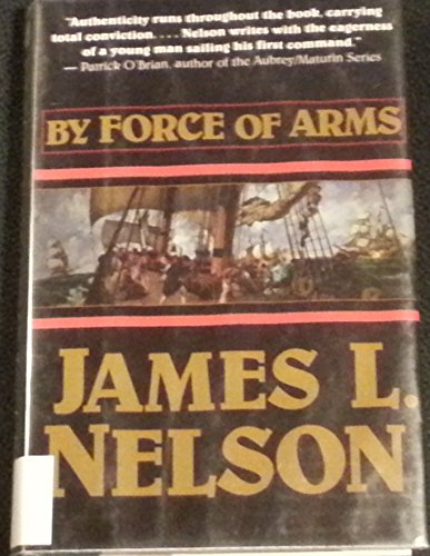 9780783885261: By Force of Arms (G K Hall Large Print Book Series)