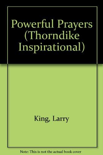 9780783886046: Powerful Prayers (Thorndike Large Print Inspirational Series)