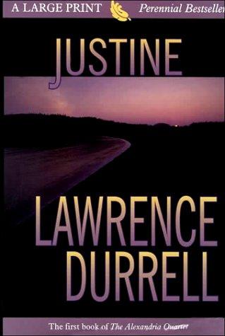 9780783886442: Justine (THORNDIKE PRESS LARGE PRINT PERENNIAL BESTSELLERS SERIES)