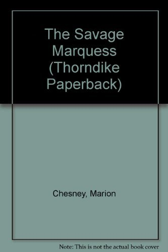 9780783888095: The Savage Marquess (Thorndike Press Large Print Paperback Series)