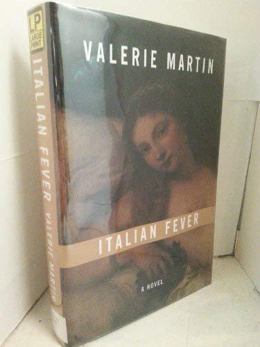 9780783888408: Italian Fever: A Novel (G K Hall Large Print Book Series)