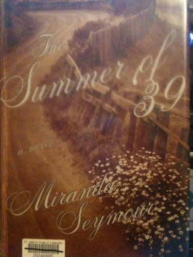 9780783889351: The Summer of '39: A Novel (G K Hall Large Print Book Series)
