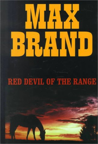 9780783889399: Red Devil of the Range (Thorndike Western II)
