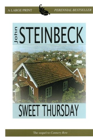 9780783891637: Sweet Thursday (Thorndike Press Large Print Perennial Bestsellers Series)