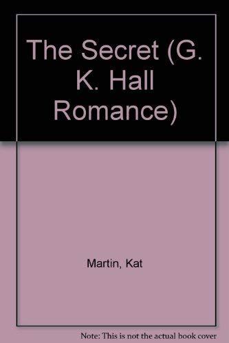 9780783895345: The Secret (G K Hall Large Print Romance Series)