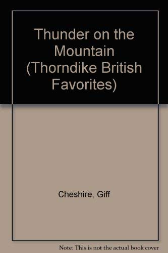 9780783895680: Thunder on the Mountain (G K Hall Nightingale Series Edition)