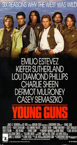 9780784011591: Young Guns (Widescreen Edition) [VHS]