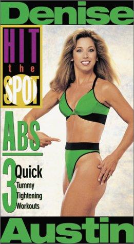 9780784017739: Denise Austin - Hit the Spot:Abs [VHS]