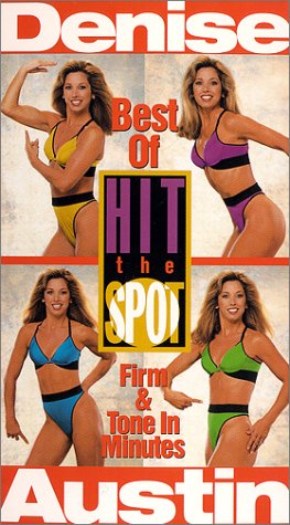 9780784017753: Denise Austin - Hit the Spot:Best of Hit the Spot [VHS]