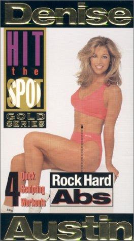9780784017791: Denise Austin - Hit the Spot: Rock Hard Abs [VHS]
